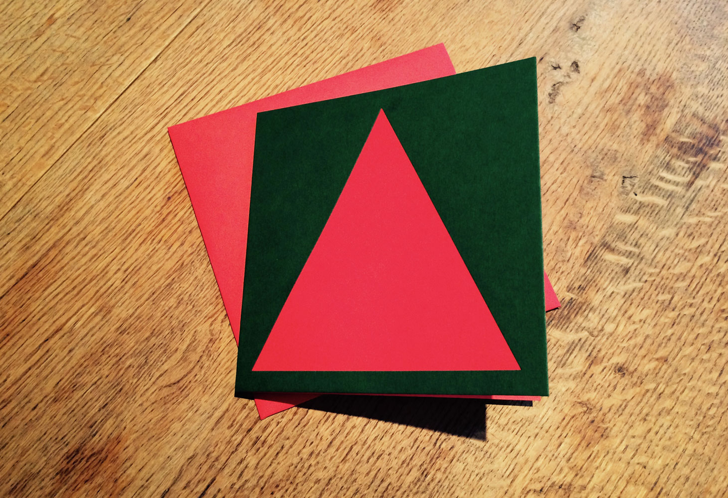 Minimalist Christmas Tree Card
